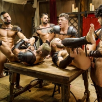 William Seed, Diego Sans, D.O., Francois Sagat, Ryan Bones, JJ Knight