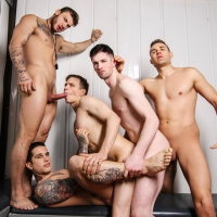 William Seed, Thyle Knoxx, Ethan Chase, Jordan Fox