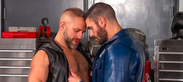 Bob Hager and Dirk Caber