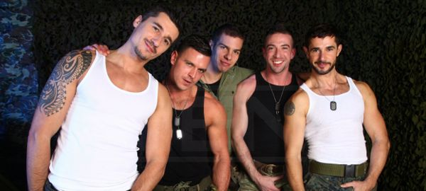 Dean Monroe, Paddy O'Brian, Jay Roberts, Paul Walker and Scott Hunter
