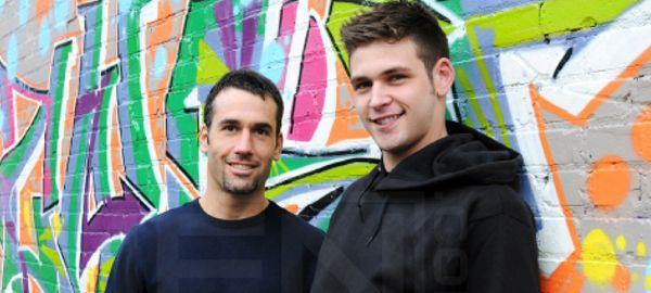 Duncan Black and Tyler Hunt