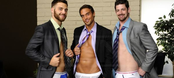 Rocco Reed, Andrew Stark and Tommy Defendi