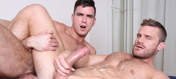 Paddy O'Brian and Landon Conrad