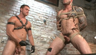 Connor Maguire Abuses Muscle Stud Seven Dixon