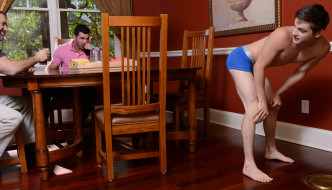 Johnny Rapid Tag Teamed In Houseboy Part Two