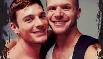 Brent Corrigan and Brian Bonds