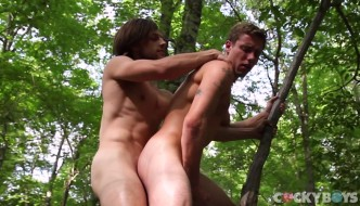Tayte Hanson and Justin Matthews Flip-Fuck At CockyBoys