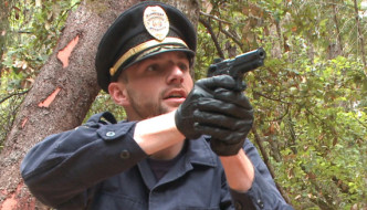Officer Bullet – Ass Fucked and Edged in the Middle of the Woods – Men On Edge