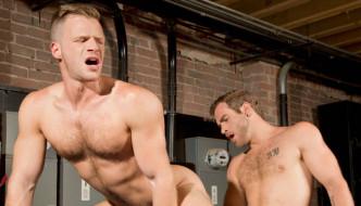 Shawn Wolfe Fists Brian Bonds At Club Inferno