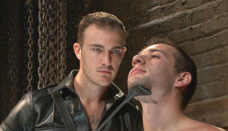 Christian Wilde Trains New Slave Dylan Knight Bound Gods