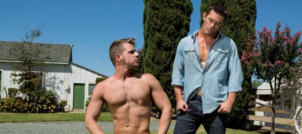 Gay Porn Star Ryan Rose Fucks Brian Bonds - HotHouse