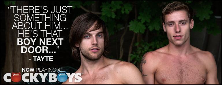 Tayte Hanson & Justin Matthews Flip-Fuck At CockyBoys