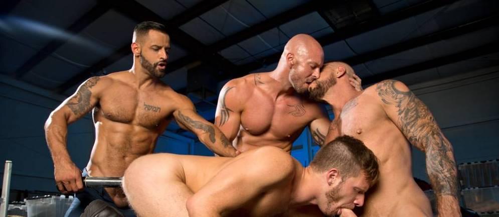Mitch Vaughn, Brian Bonds, David Benjamin, & Rocco Steele - Orgy!