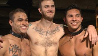 Christian Wilde Abuses and Fucks Slave Boys Brock Avery and Seth Santoro