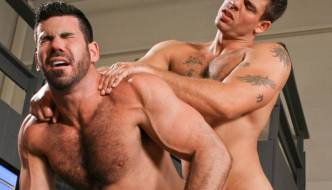"Derek Atlas Fucks Billy Santoro In ""Auto Erotic"""
