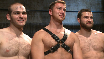Connor Maguire Abuses Abel Archer & John Smith At Bound Gods