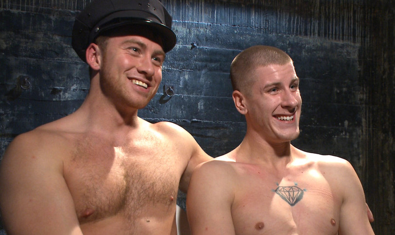 Officer Connor Maguire Uses and Abuses Brendon Scott At Kink!