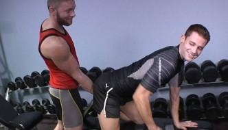 Dawson Fucks Quinn Raw In The Gym At Corbin Fisher!