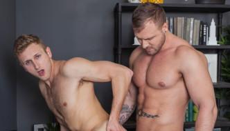 Gay Porn Star Austin Wolf Fucks Bisexual Hunk Jamie Pavel