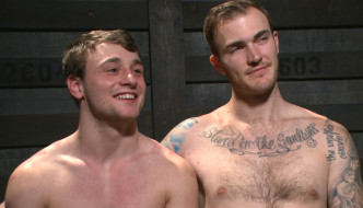 Christian Wilde Breaks In New Slut Boy Scott Harbor At Bound Gods!