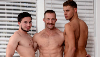 Horny Daddy Adam Herst Fucks Young Boys Andres Moreno & Luke Alexander