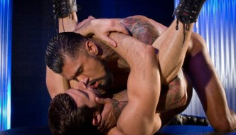 Boomer Banks Fucks Dario Beck At Raging Stallion!