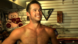 Mike DeMarko Abused By A Group Of Horny Men In Public!