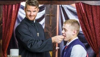 """Brendan Patrick Fucks Ian Levine At Icon Male – """"Forgive Me Father"""""""
