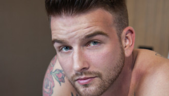Jordan Levine Sticks His Raw Cock Inside Hot New Comer Brett Beckham