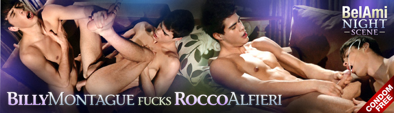 Billy Montague Fucks Rocco Alfieri Bare At BelAmi!