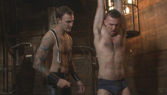 Chris Harder AKA Slave 401 Submits To Christian Wilde At Bound Gods