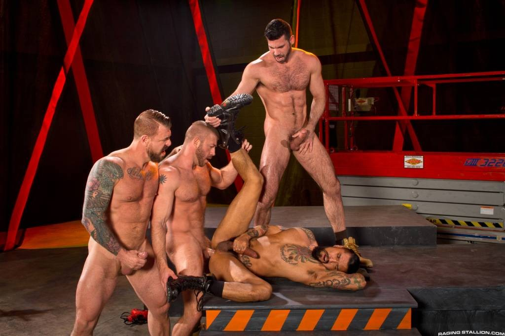 CLUSTERFUCK! – Hunter Marx, Boomer Banks, Billy Santoro and Rocco Steele