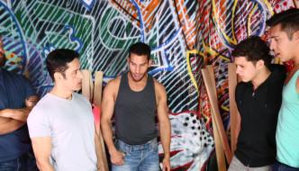 Rafael Alencar,Colby Jansen,Ricky Decker,Nicoli Cole, Seth Santoro ORGY – Runaway 4