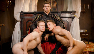 Johnny Rapid, Darius Ferdynand , & Gabriel Cross – Gay of Thrones