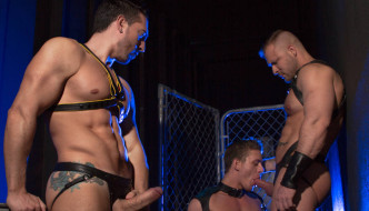 Jimmy Durano, Alexander Gustavo, & Austin Wolf Have The THE URGE – HUNTIN FOR ASS