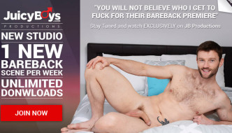 Johnny Rapid Bareback Debut At Juicy Boys – America's Fav Twink Fucked Raw!