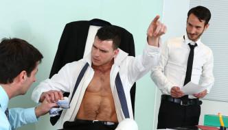 "Paddy O'Brian Fucks Mark Sanz ""Naked Promotion"""