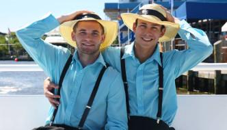 Garrett Cooper, Jack Radley & Rafael Alencar In Rumspringa Part 3