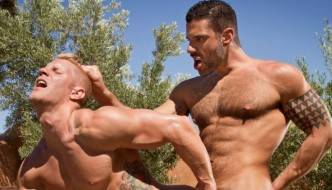 Letterio Amadeo Fucks Johnny V At Raging Stallion