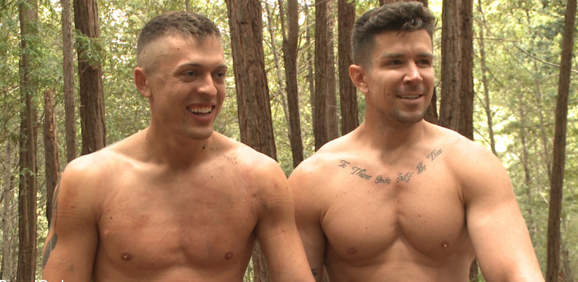 Tyler Rush Mercilessly Fucked in the Woods By Trenton Ducati At Bound Gods