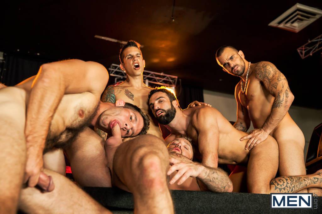 The Thirst Orgy – Jimmy Fanz, Pierre Fitch, Damien Crosse, Abraham Al Malek, Dominique Hansson