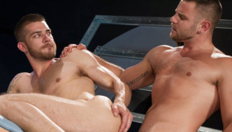 Nick Sterling Fucks Tryp Bates' Monumental Ass At HotHouse
