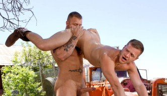 Brian Bonds and Austin Wolf Total Exposure At Raging Stallion