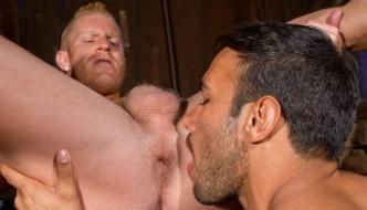 Bodybuilders Johnny V and Dorian Ferro In Total Exposure
