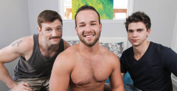 Will Braun and Dirty Uncle Dennis West Fucks Luke Adams