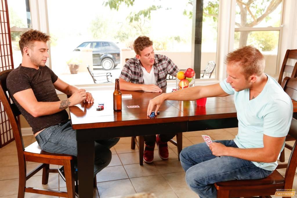 Rob Ryder, Alexander Gustavo, and Alex Greene At NextDoor Buddies