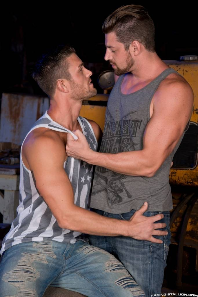 Ryan Rose and Andrew Stark Flip Fuck At Raging Stallion!