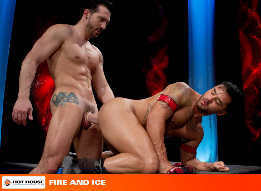 Jimmy Durano Fucks Bruno Bernal – Fire and Ice!