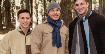 Sean Cody's Bareback Winter Getaway – Lane, Joey, and Brodie 3 Way!