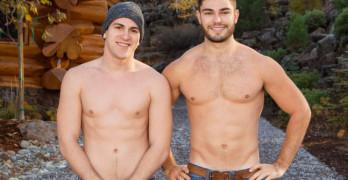 Tanner and Rowan Bareback Flip-Fuck At Sean Cody